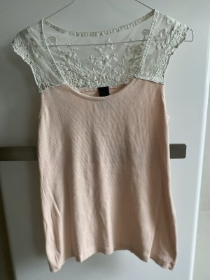 BC Lace Top white-dusky pink