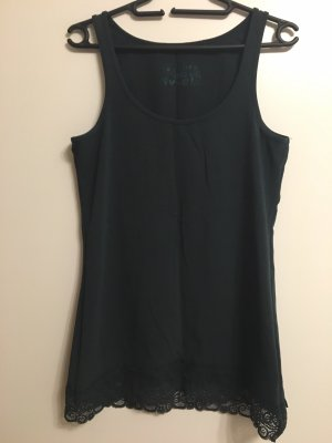 17&co Lace Top petrol
