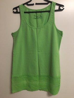 17&co Top di merletto verde