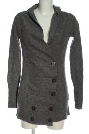 Splendid Pullover in cashmere grigio chiaro puntinato stile casual