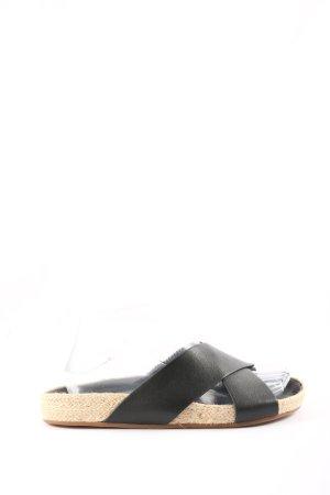 Splendid Botas de casa negro estilo sencillo