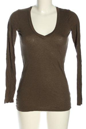 Splendid Longsleeve bronzefarben Casual-Look