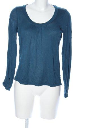 Splendid Manica lunga blu stile casual