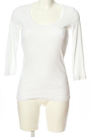 Splendid Manica lunga bianco stile casual