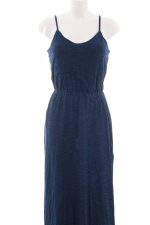 Splendid Maxikleid blau meliert Casual-Look