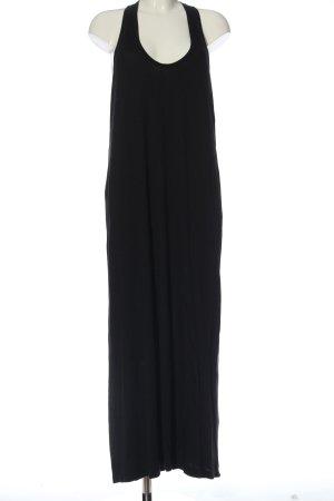 Splendid Maxi abito nero stile casual