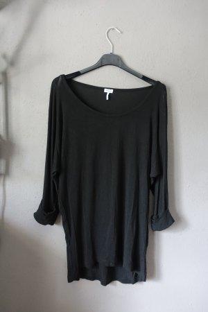 Splendid, schwarzes Shirt, 3/4 Arm mit Umschlag, Made in USA, sehr leicht, Obertiel