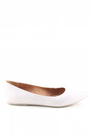 Spm Ballerinas with Toecap natural white casual look