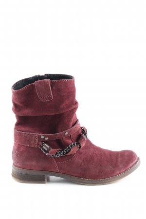 Spm Booties rot Casual-Look