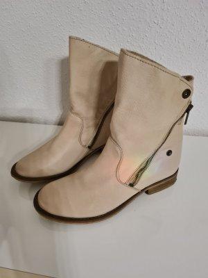 SPM Shoes & Boots Low boot blanc cassé cuir