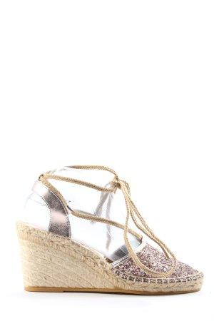 Spm Sandalo con plateau multicolore stile casual