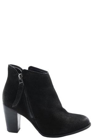 Spm Reißverschluss-Stiefeletten schwarz Casual-Look