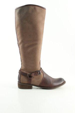 Spm Botas de equitación marrón look casual
