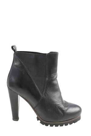 Spm Schlüpf-Stiefeletten schwarz Casual-Look
