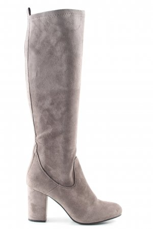 Spm Slouch Stiefel wollweiß Casual-Look