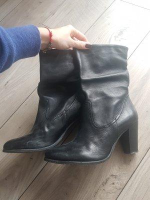 SPM Stiefel Stiefeletten schwarz Schuhe 41
