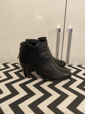 SPM Stiefeletten Gr.41 schwarz Boots Stiefel Leder