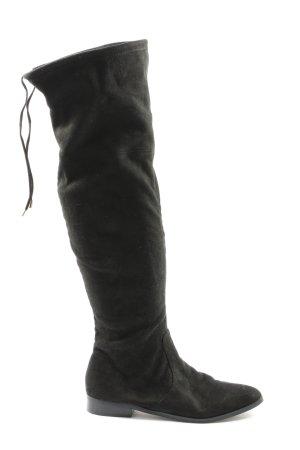 Spm Wide Calf Boots black casual look