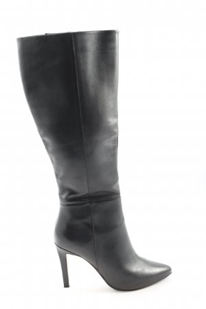 Spm Wide Calf Boots black business style