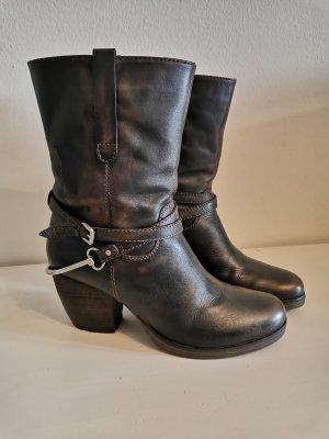 SPM Western Boots rot/schwarz