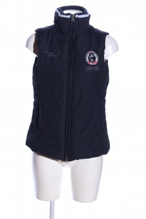 Spooks riding Quilted Gilet blue casual look