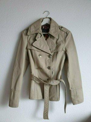 Spoom Leather Jacket oatmeal leather