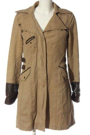SPOON Marynarski płaszcz nude W stylu casual