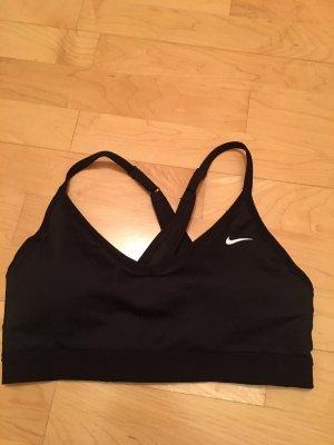 Nike Sporttop zwart-wit