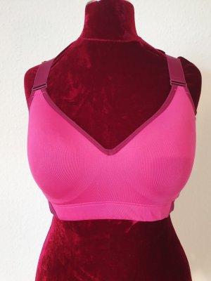 H&M Sport Reggiseno rosso mora-rosa