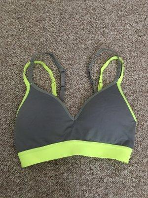 Sport BH Gr. XS Neon gelb/grau