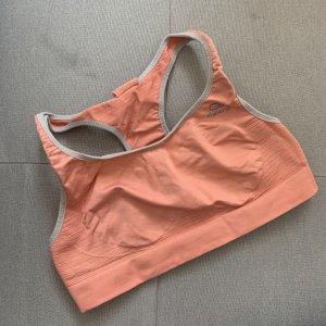 Sport-BH in zartem Orange