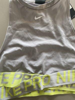 Nike Bra light grey-primrose