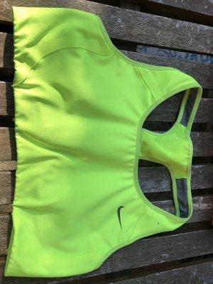 Nike Reggiseno verde prato