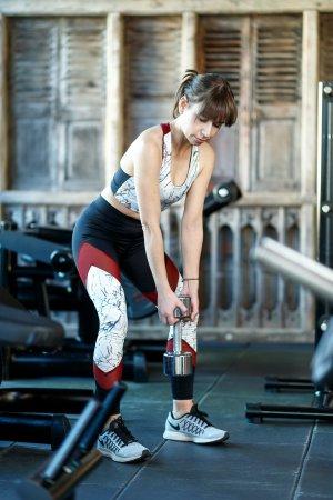 Sport-BH und Leggings / Tights | Marmor Mesh Design schwarz burgundy XS