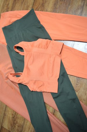 Sport Cropped Top Orange Gr. 38 neu SOUTH BEACH