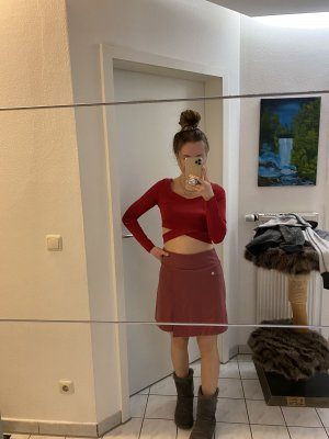 Falda pantalón salmón-rojo claro