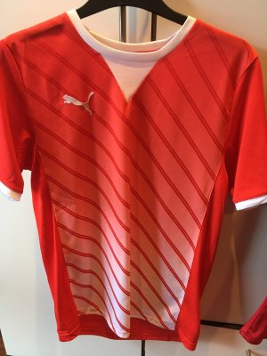 Puma Sportshirt rood-wit