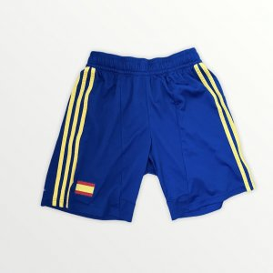Adidas Sport Shorts dark blue-yellow
