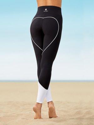 oceans apart Spodnie sportowe czarny-biały