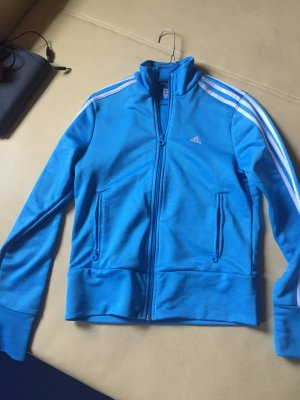Adidas Giacca sport blu neon