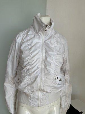 Ann Christine Short Jacket white-natural white