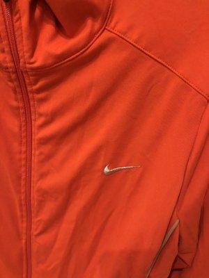 Nike Chaqueta deportiva naranja oscuro-naranja neón