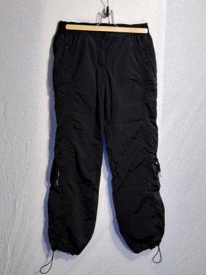 H&M Sport pantalonera negro poliamida