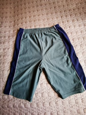 Crane pantalonera azul cadete-verde grisáceo