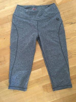 Crivit Pantalone da ginnastica grigio scuro-grigio