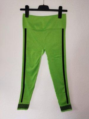 Fabletics Pantalon de sport noir-vert fluo