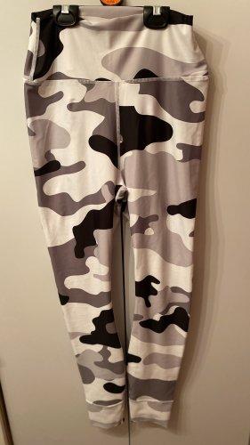Pantalone da ginnastica multicolore Lycra
