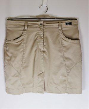 MDC Falda pantalón beige-marrón arena tejido mezclado