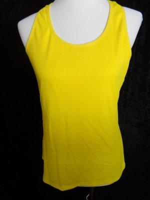 Crane Sports Shirt yellow polyester