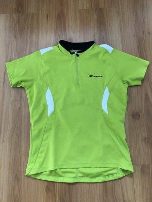 Ziener Camisa deportiva verde pradera